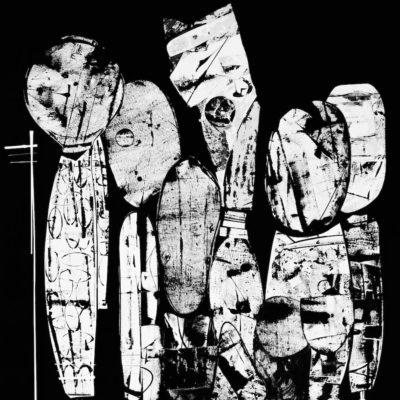 2017 | Collage + Malerei + Acryl auf Leinwand | 120 x 100cm © Ursula van Boekel